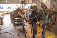In pipe welding applications, proper weld preparation helps prevent problems such as weld inclusions, slag entrapments, hydrogen cracking, lack of fusion, and lack of penetration.