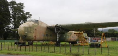 Bristol freighter returns to the UK from Ardmore