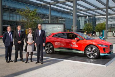 Heathrow passengers to gain access to chauffeur-driven electric cars