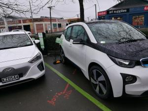 Electric Vehicle hub opens at Ara city campus