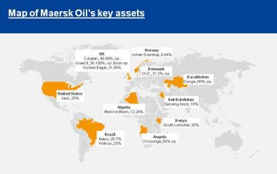 Total acquires Maersk Oil for $7.45 billion in a share and debt transaction