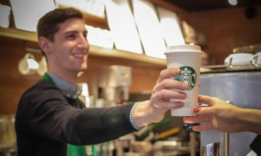 Starbucks commits $10m to decade-old pledge for fully recyclable cup