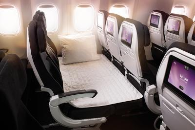 Air New Zealand - Economy Skycouch™ for $1* when you book two Economy seats