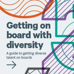 Getting on Board With Diversity