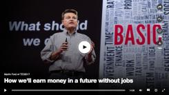 How we'll earn money in a future without jobs
