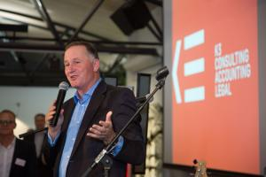 Sir John Key Discusses Life After Politics And a Cashless Future at K3 Launch