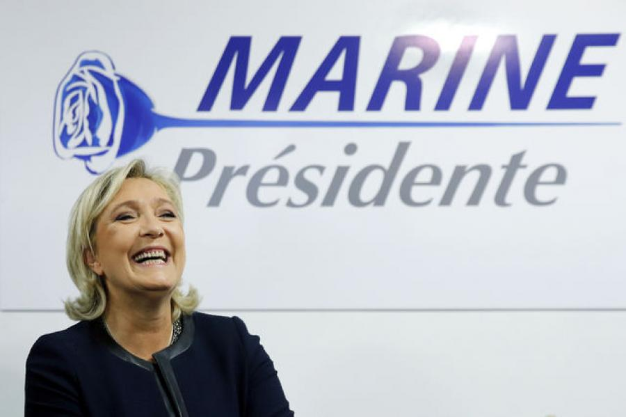 France's Marine Le Pen is Looking Increasingly Presidential—Likely to pick up Socialist Party Votes in Runoff.