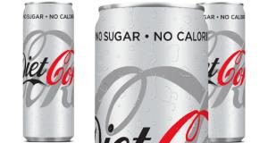 New look and feel for Diet Coke