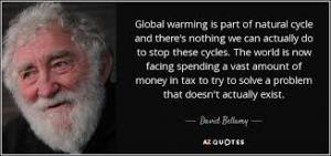 David Bellamy First Heretic of Carbon Cult Inquisition Refused to Recant is Modern Galileo
