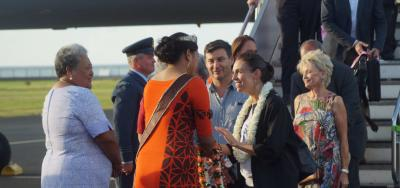 Ardern leads 'Pacific Reset' tour