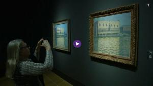 New Monet exhibition in London explores the use of buildings in his work