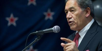 New Zealand First's WInston Peters MP Re-Draws General Election Campaign Map So That All Roads lead to Immigration