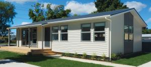 Phil Twyford opens EasyBuild show home village in Masterton