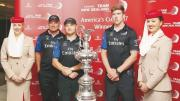 Triumphant New Zealand crew welcomed in Dubai