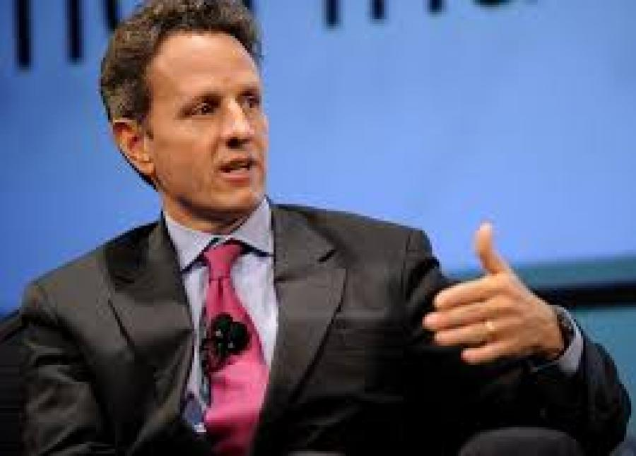 No fanfare in Singapore for Warburg Pincus' Tim Geithner