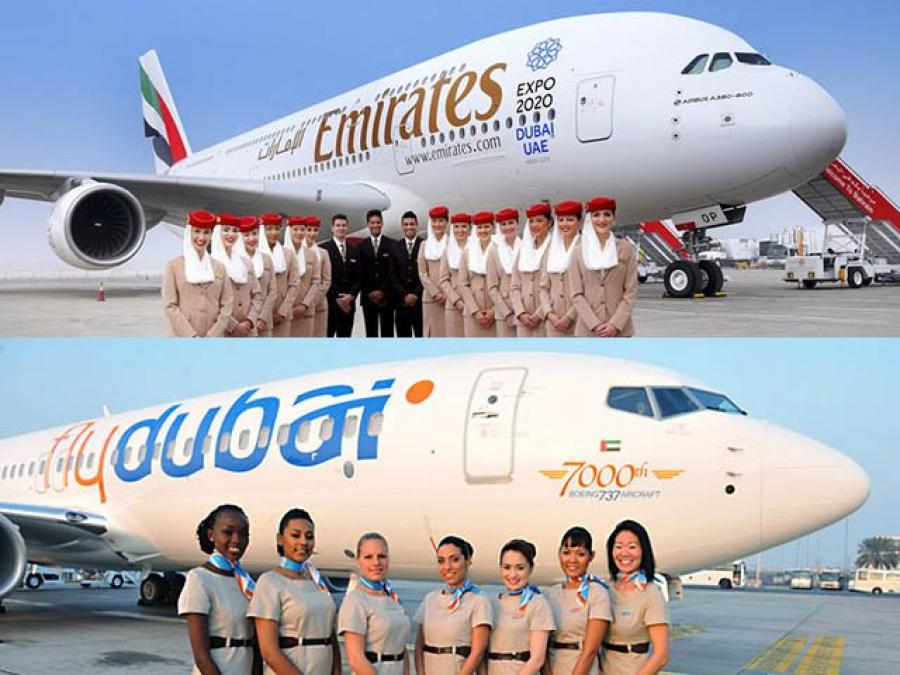 Emirates and flydubai to offer travellers even more connections in 2018