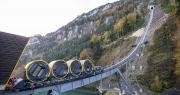 World's steepest funicular railway opens to public