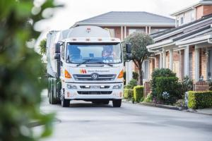 First electric rubbish truck on NZ streets