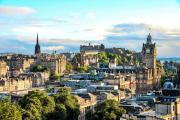 Scotland's capital city, Edinburgh.