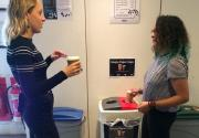 Bywaters pilots paper coffee cups recycling scheme at UCL