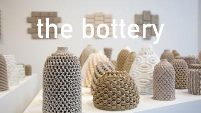 The World's First Robotic Ceramic Workshop is named The Bottery