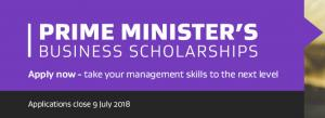 Applications open for Pm's business scholarships