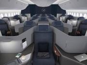 All Business Class passengers on Lufthansa's 777-9s will have direct aisle access, thanks to the 1-2-1 and 1-1-1 configuration.