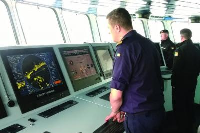 British radar technology company wins contract to equip the Royal New Zealand Navy's new fleet tanker with a cutting-edge navigation bridge system.