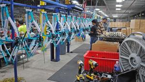 Bike Production Shifts Gears and Rolls Back to the US