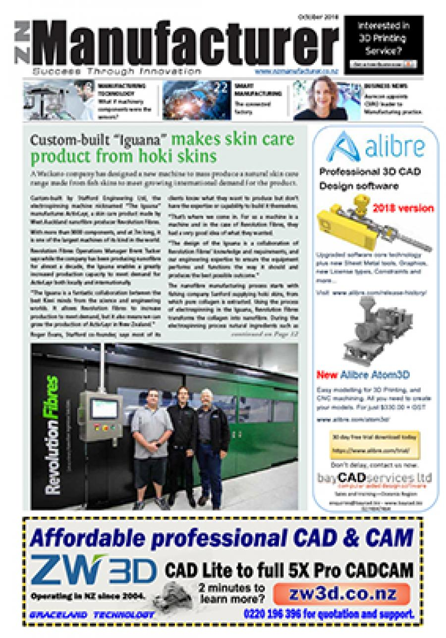 NZManufacturer October 2018 Edition