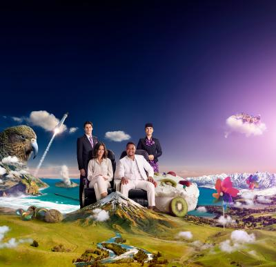 Air New Zealand takes viewers on 'A Fantastical Journey' in latest safety video