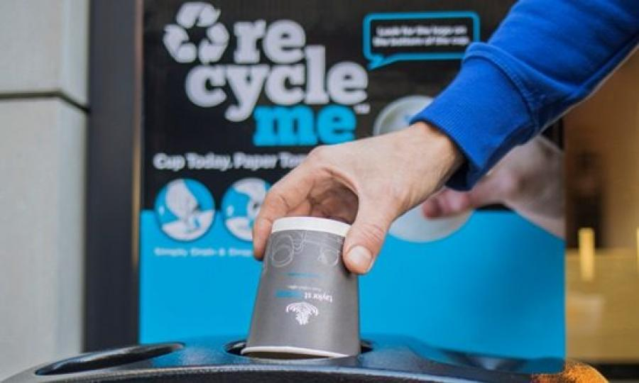 In a New Zealand first, coffee cups across the country will be collected and recycled into paper, thanks to the introduction of Detpak's RecycleMe™ System.